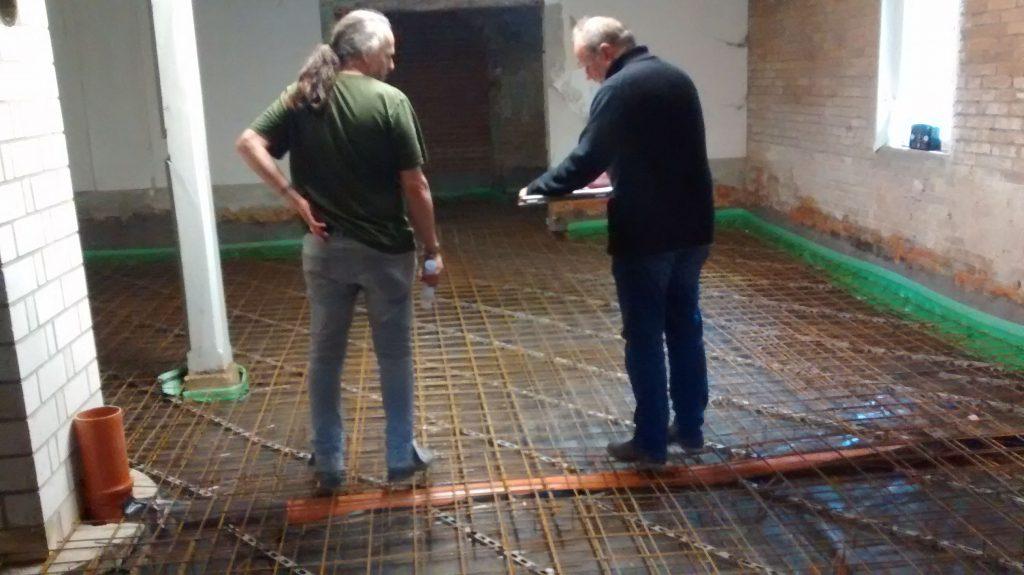 Fußboden In Beton ~ Fussboden vor beton und estrich u graphikexpansion