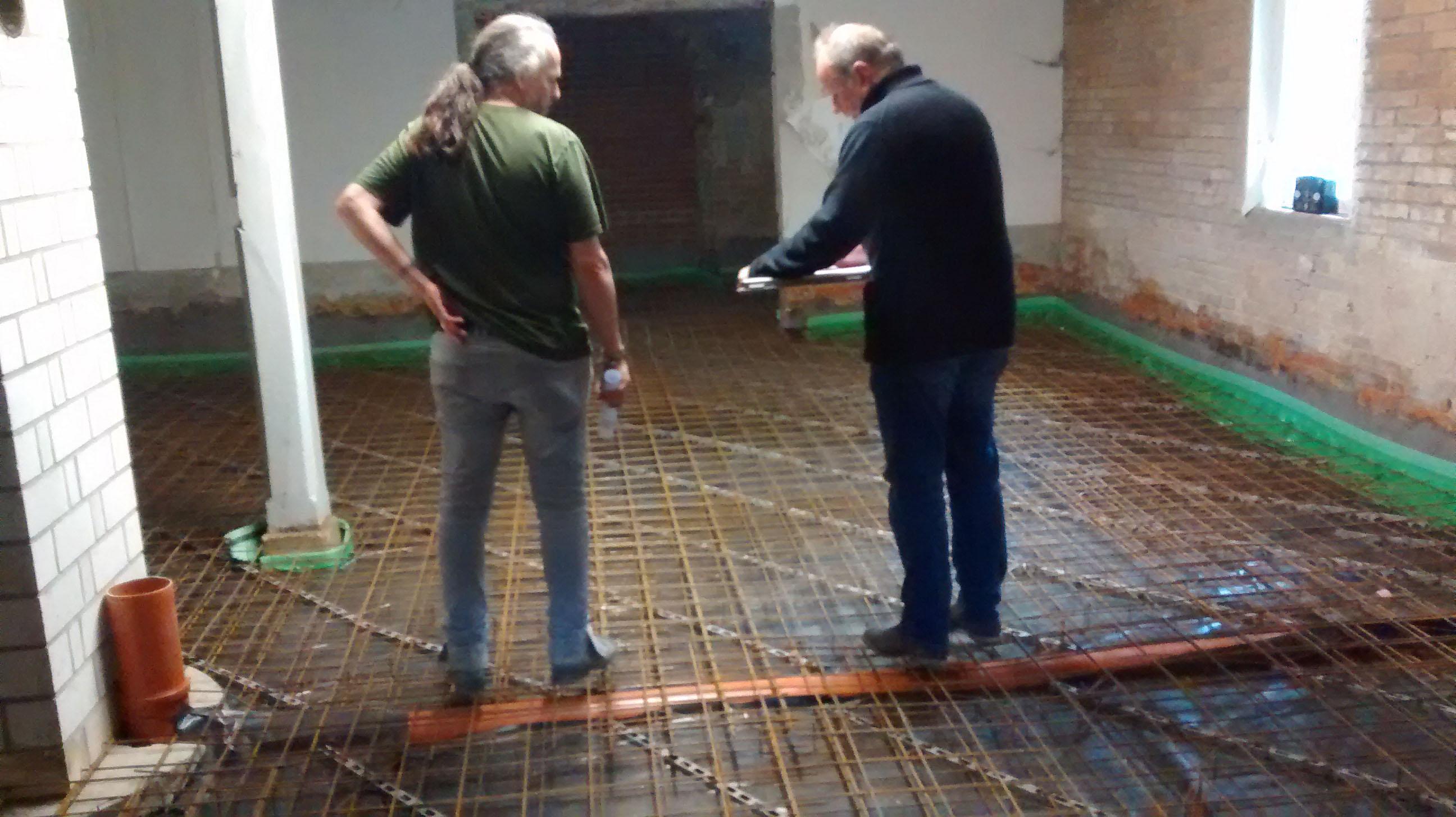 Fußboden Estrich ~ Estrich boden selbst verlegen genial best beton floor lifeboxx
